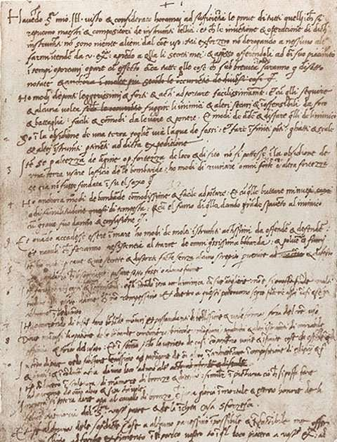 Da Vinci's letter to the Duke of Milan - the very first résumé.